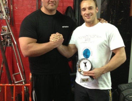 London`s Strongest Man U90kg